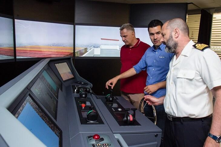 Transas simulator mosta