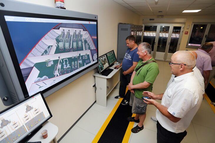 Vizualizacija simulator stroja